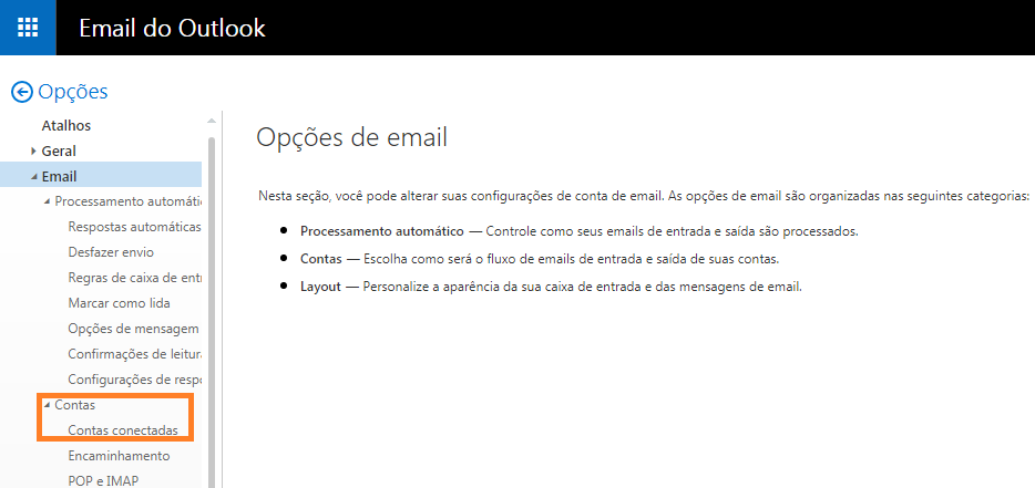 como alterar o meu endereo no hotmail